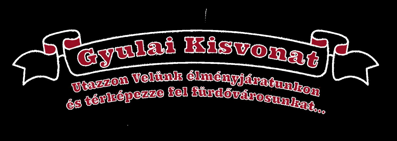 Gyulai Kisvonat Rajzolt Logo